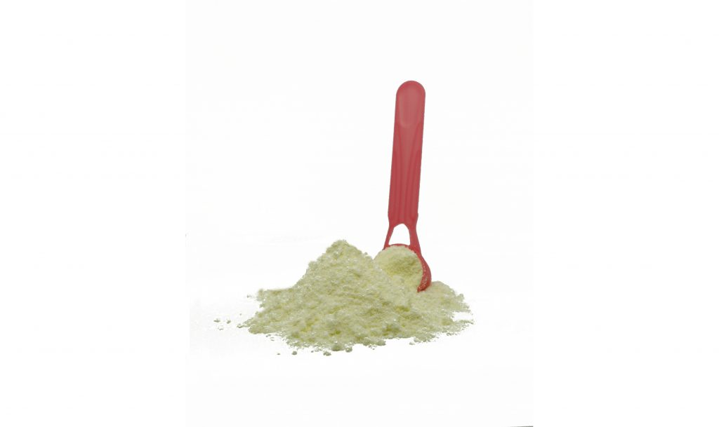 powdered milk spoon