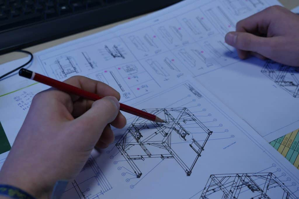 Picture of an engineer thinking to a solution for Velec Systems