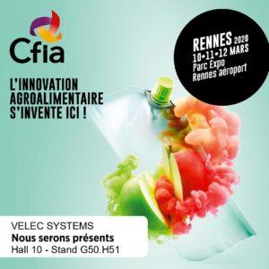 VELEC Systems présent au CFIA de Rennes