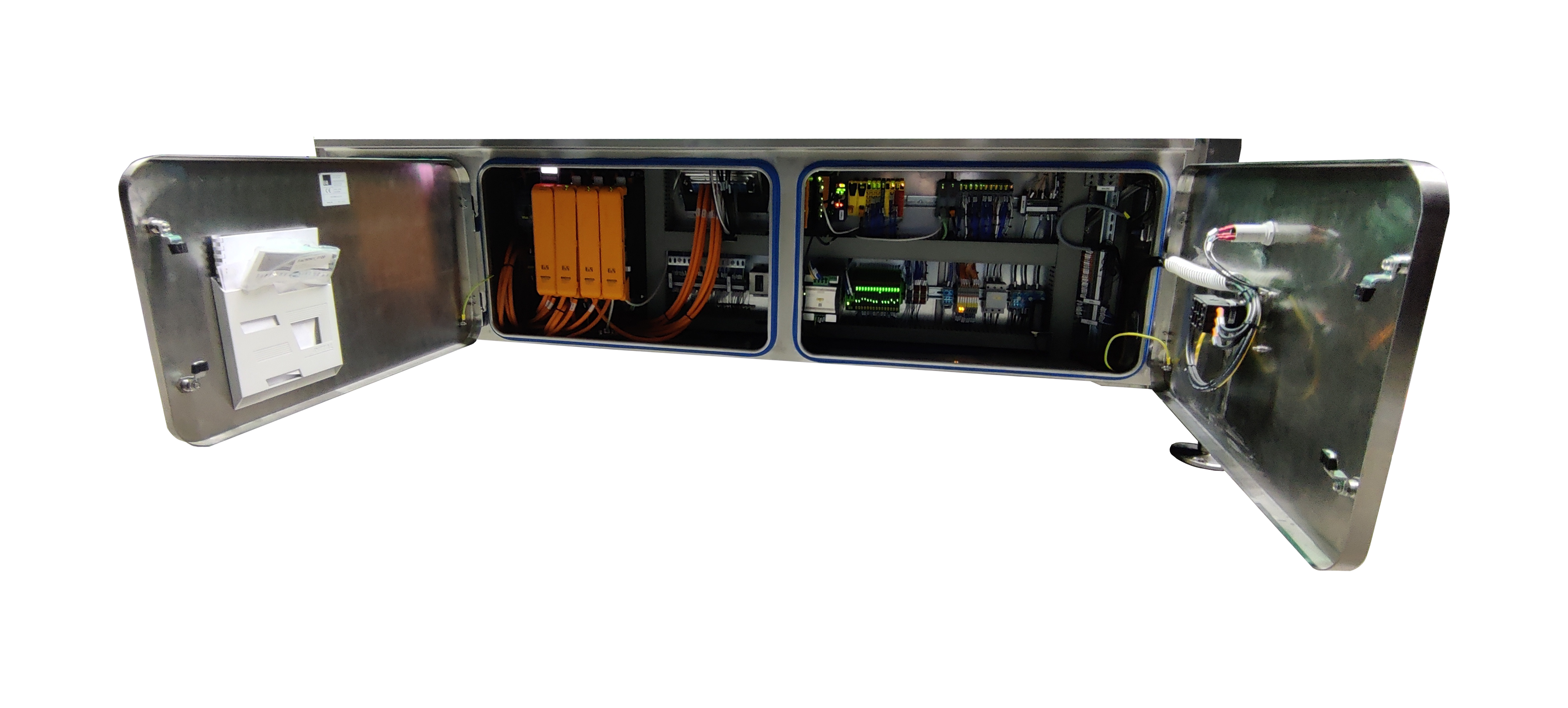 built in electrical cabinet