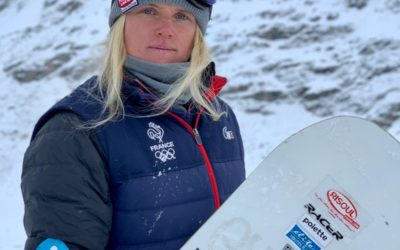 VELEC sponsors Lucile Lefèvre on her way to the Olympic Games
